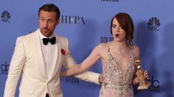 El buen rollo entre Ryan Gosling y Emma Stone en el