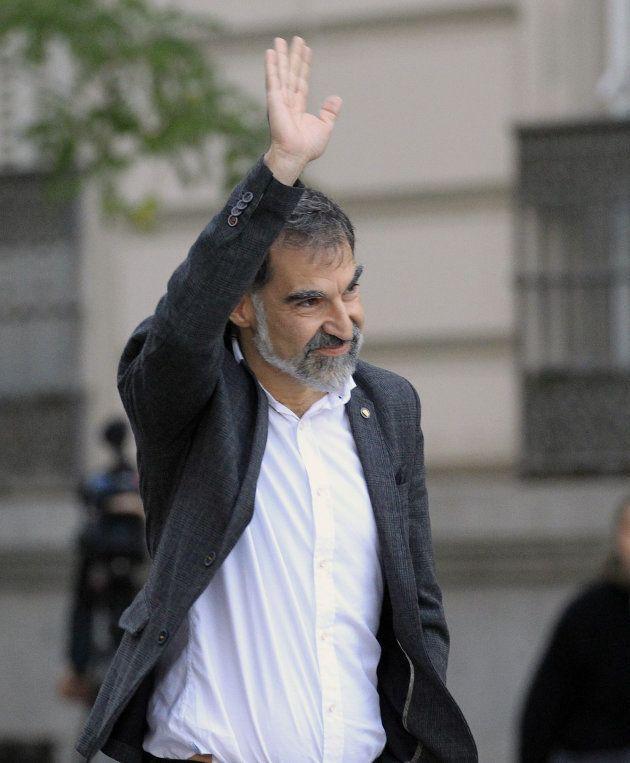 El presidente de la Asamblea Nacional Catalana (ANC), Jordi