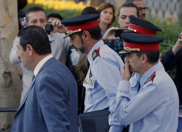 El jefe de los Mossos d'Esquadra, Josep Lluis