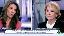 La foto con la que un concejal de Ahora Madrid responde a lo que Aguirre dijo en La