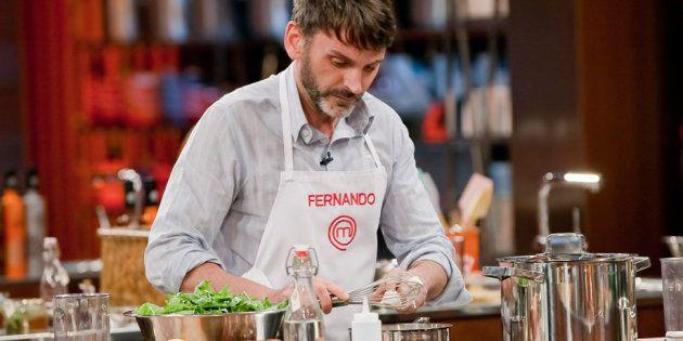 Fernando Tejero, contra 'Masterchef':