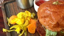 Diseño y hamburguesas en