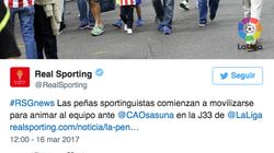 Mofas al Sporting de Gijón por el tremendo error al elegir la foto de este