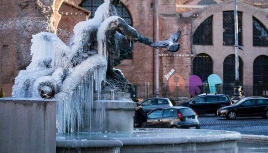 Las fotos de la ola de frío en