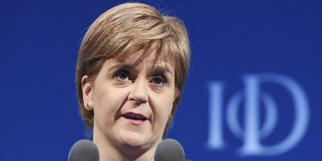 La ministra principal de Escocia, Nicola