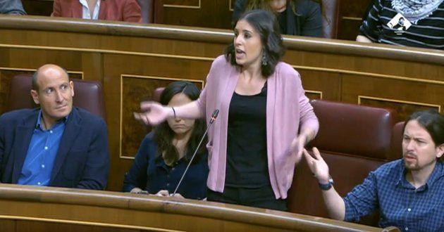 Bronca entre PP y Podemos en pleno debate sobre la