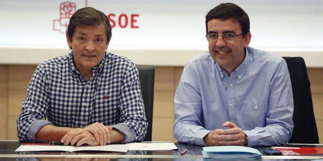 Javier Fernández y Mario