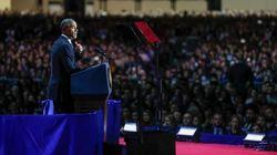El último discurso de Obama como presidente, en 13