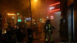 Un hombre muere al lanzarse al vacío cuando huía del incendio de su
