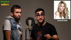 Dos 'youtubers' cantan 'Despacito', de Luis Fonsi, con 20 voces