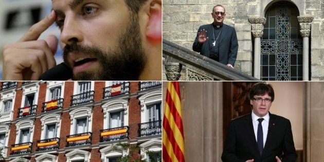 El pulso Cataluña-España: crónica de una semana no apta para