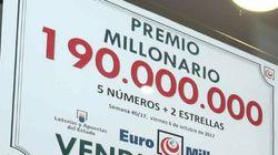 El mayor premio de la historia de Euromillones ha caído en