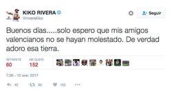 Kiko Rivera desata el cachondeo con un tuit sobre el