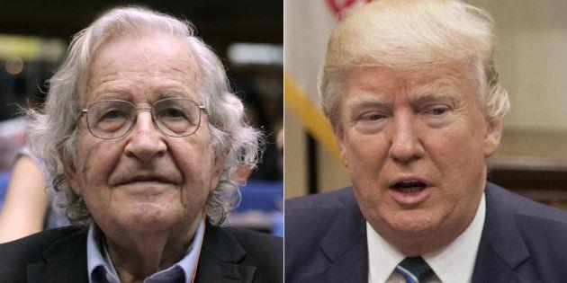 El vaticinio de Chomsky sobre Trump que da