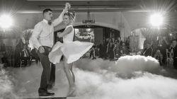Esta pareja clava la coreografía más famosa de 'Dirty