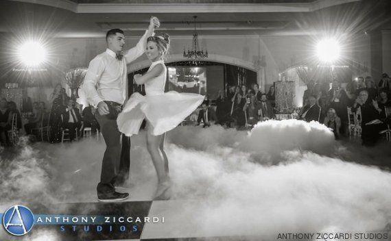 Estos recién casados clavan la coreografía más famosa de 'Dirty