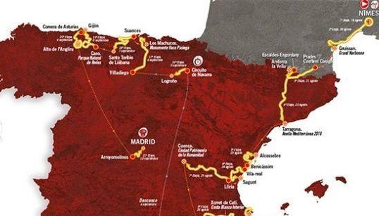 Comprueba aquí si la Vuelta a España pasará este año cerca de tu