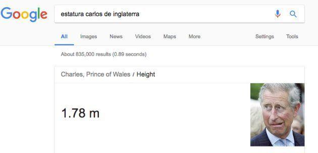 Un tuitero descubre este detalle tras buscar cuánto medían Carlos y Diana de