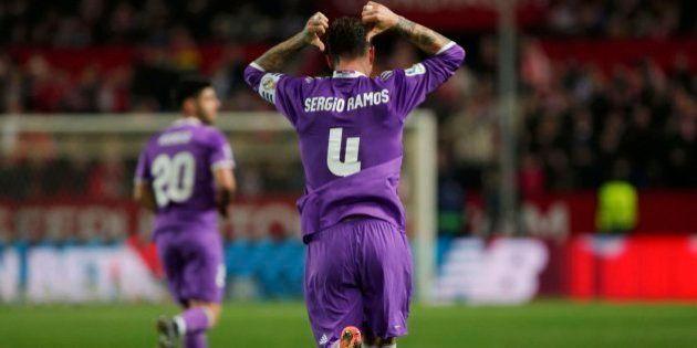 Sergio Ramos indigna con este gesto ante el
