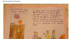 Una niña de Málaga da toda una lección de diversidad en clase de