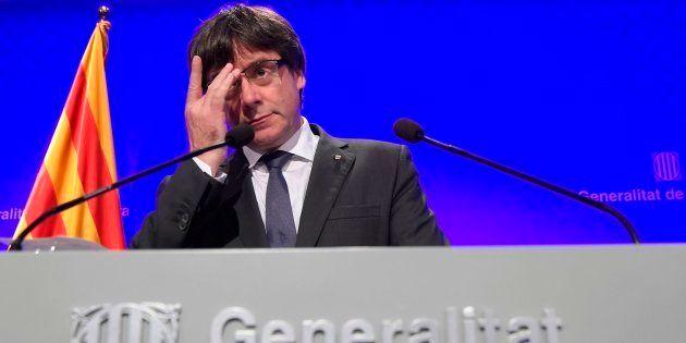 Puigdemont no formulará la declaración de independencia el martes, según la