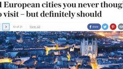 'The Telegraph' recomienda a los británicos visitar estas dos ciudades