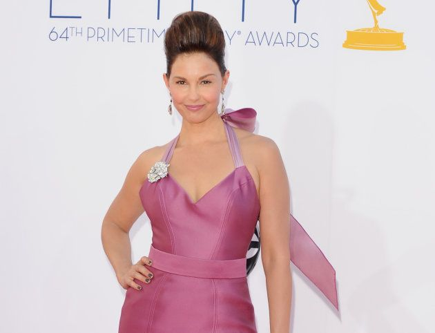 Ashley Judd durante la 64 edición de los Emmy en Los
