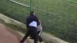 La lamentable pelea entre dos hombres en un partido de fútbol