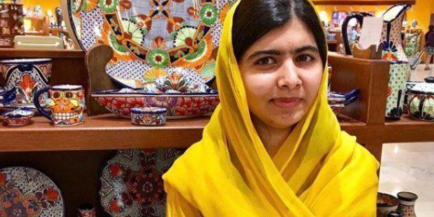 Malala Yousafzai, fotografiada en su reciente visita a México, en una imagen de su cuenta de