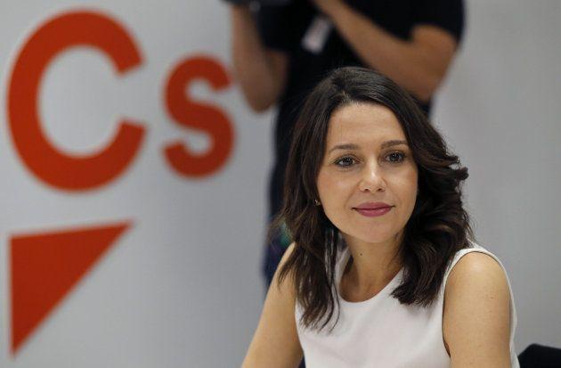 Imagen de archivo de la portavoz de Ciudadanos, Inés