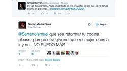 La respuesta de Ismael Serrano a este tuit