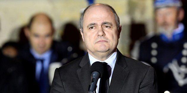 Imagen de archivo del ministro del Interior, Bruno Le