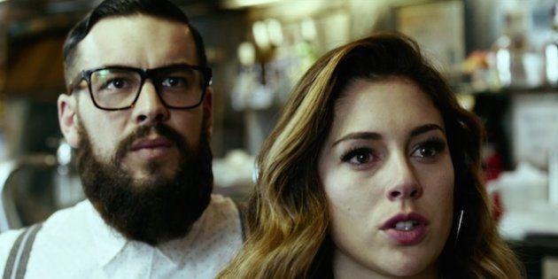 Mario Casas y Blanca Suárez, en 'El