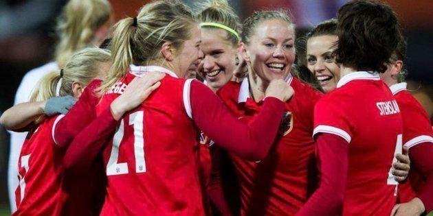 Imagen de archivo de la selección femenina de fútbol