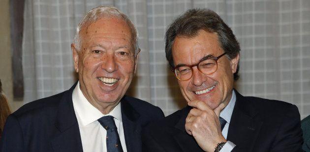 Los ex Margallo y Mas se ven las caras: una historia de reproches, vetos, votos y hasta