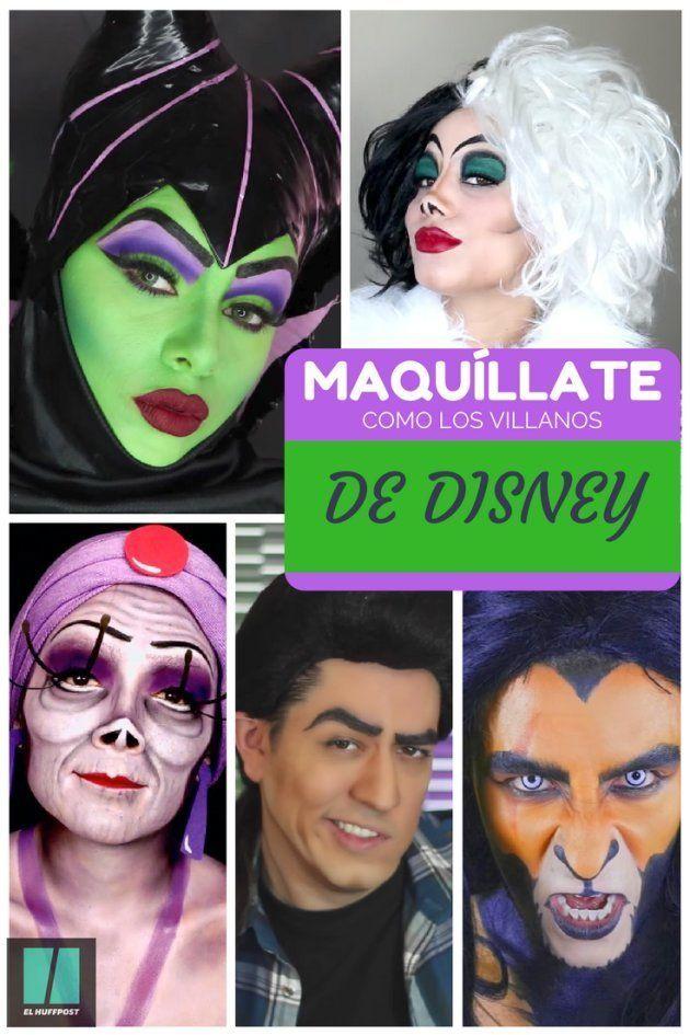 Halloween 2017: aprende a maquillarte como los malos de