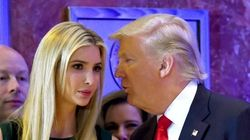 Trump se confunde al 'arrobar' a su hija... y recibe una sorpresa en