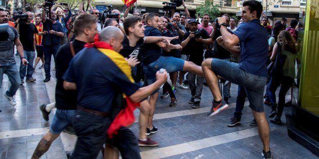 El joven que se enfrentó él solo a un grupo de ultras: