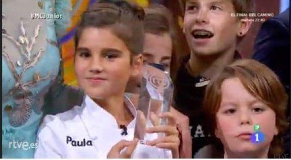 Paula gana 'MasterChef Junior