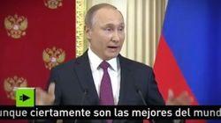 Putin duda de que Trump tuviera relaciones con prostitutas rusas aunque