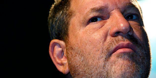Harvey Weinstein en una conferencia en Abu Dabi, el 15 de octubre de