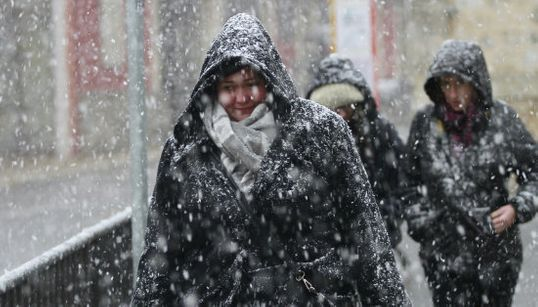 Las insólitas fotos de la nieve en Levante y