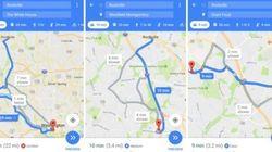 Google Maps también nos dirá si hay