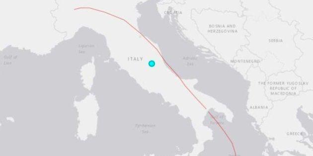 El castigado centro de Italia, sacudido por una cadena de seísmos de hasta 5,4 de