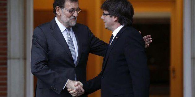 El montaje de Puigdemont y Rajoy que vas a recibir por