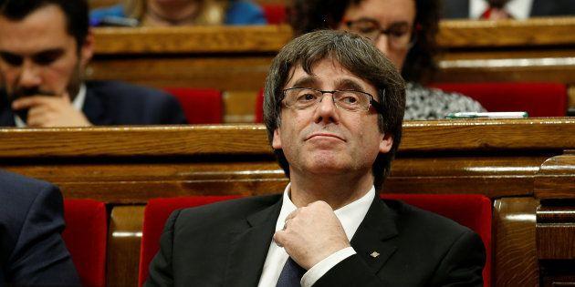 Puigdemont: o irresponsable o