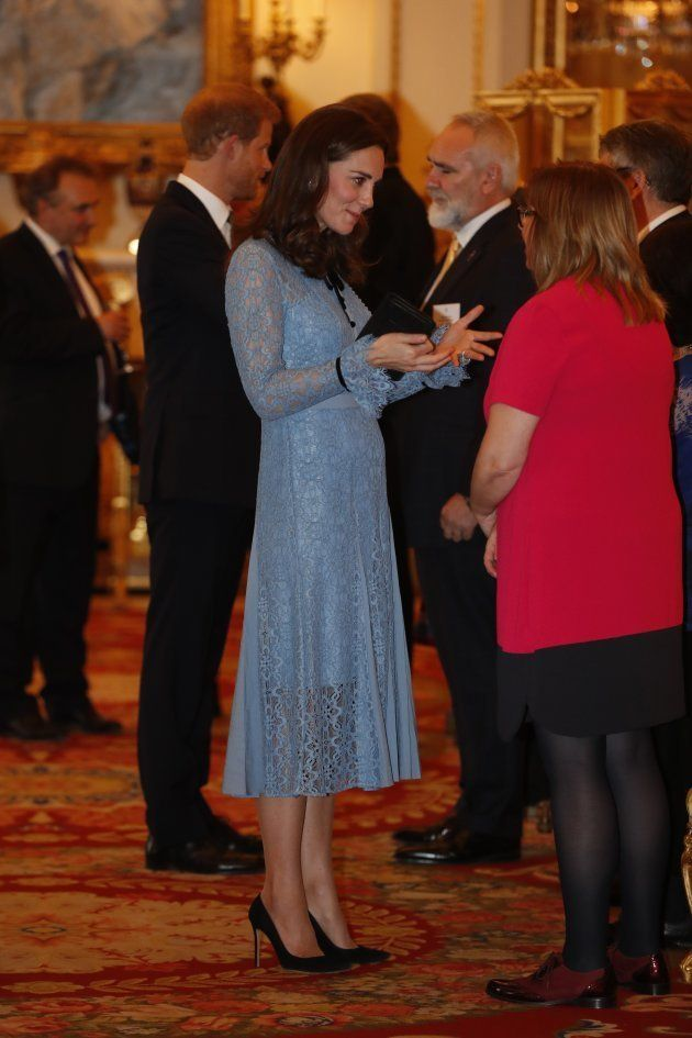 La primera aparición pública de Catalina de Cambridge tras anunciarse su tercer