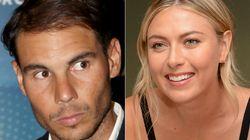 Sharapova revela el mensaje que Nadal le envió en su peor