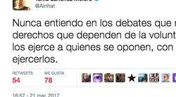 Tania Sánchez se marca un 'Errejón' con un mensaje incomprensible en