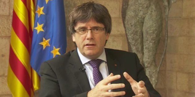 Puigdemont pide en CNN una reunión con el Gobierno para nombrar un mediador y